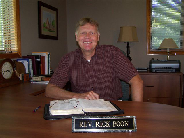 Reverend Rick Boon